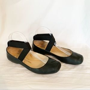 Jessica Simpson Mandalaye Leather Ballet Flats 8